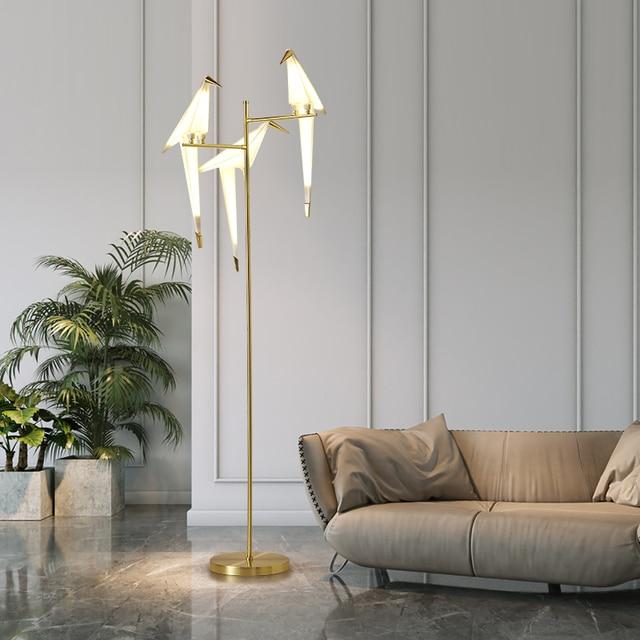 Bird Perch Floor Lamp 2