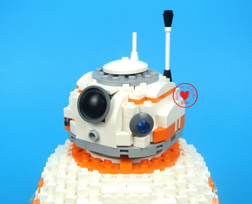 Oyuncaklar ve Hobi Ürünleri'ten Bloklar'de Yeni 1238 adet Starwars Bb8 Teknik Robot Fit Star Wars Rakamlar Şehir Modeli Yapı Taşı Tuğla Erkek Hediye Seti Oyuncak çocuk çocuk Doğum Günü'da  Grup 3