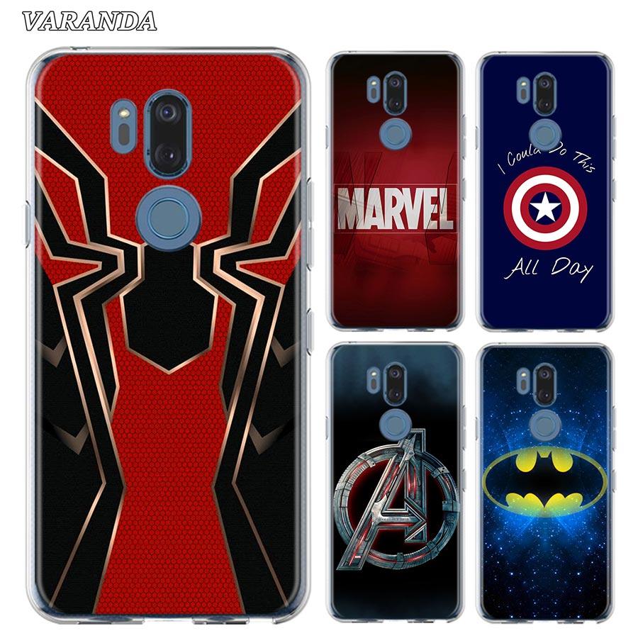 Avengers Endgame Marvel Logo Silicone Phone Case For LG K40 K40s K41s K50s K51s K61G6 G7 G8 Thinq Q51 Q60 Q61 Q70 Shell Cover