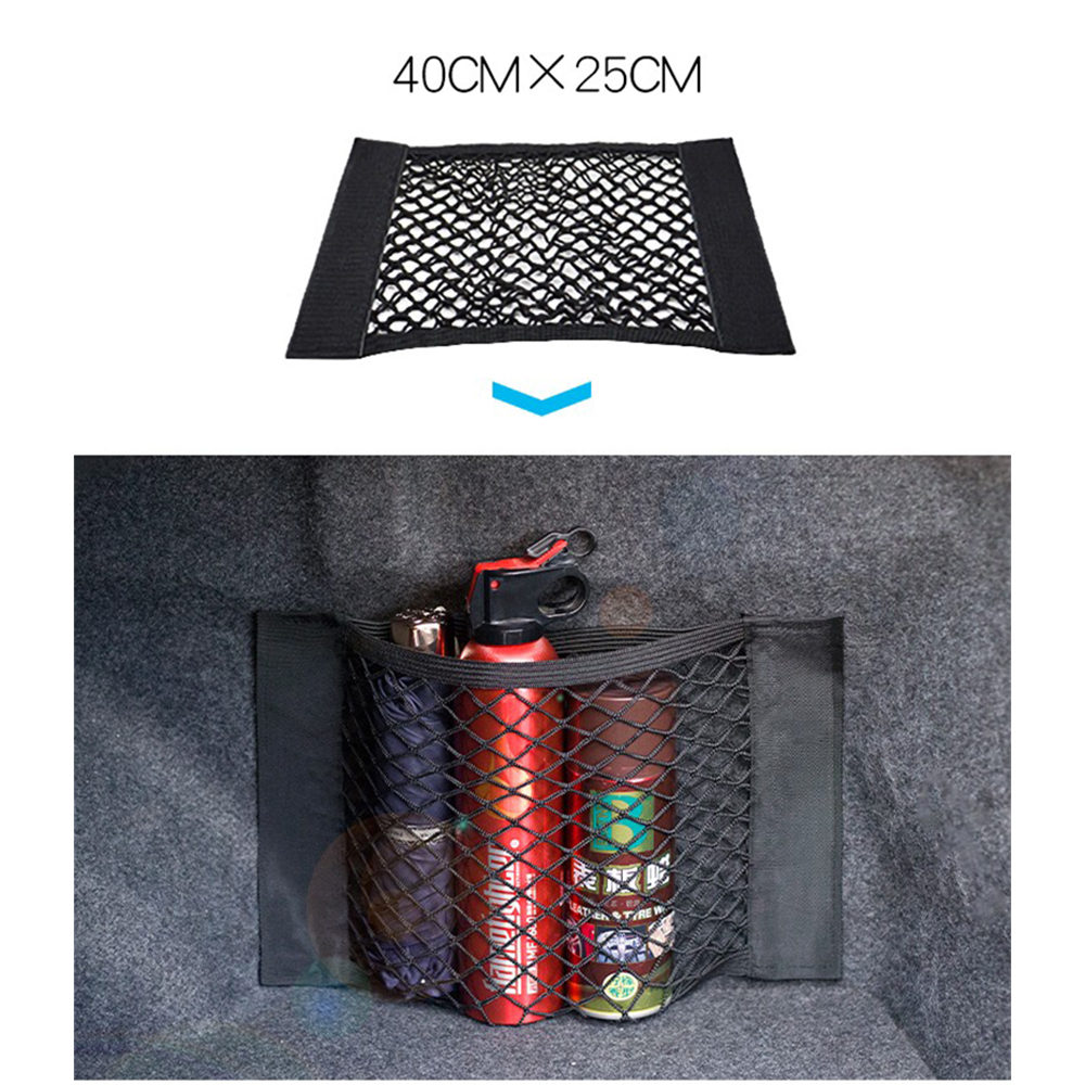 Car Trunk Net Nylon SUV Auto Cargo Storage Mesh Holder Universal For Cars Luggage Nets Travel Pocket