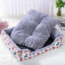Pet Dog Bed Mat Puppy Cat Fleece Warm Bed House Plush Cozy Nest Mat Pad Pet House Bed Sofa Sleeping Bag Nest Kennel Dogs Pad