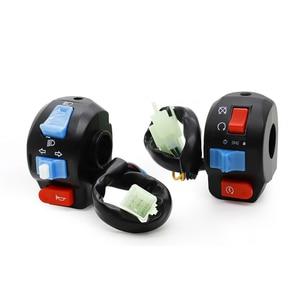 Image 3 - Interruptores de controle do guiador chifre botão sinal volta farol interruptor início para chinês scooter gy6 4 stroke taotao jcl znen bms