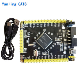 STM32f407ZGT6 Arm Cortex M4 Development Board STM32F4 Discovery MCU LQFP144 Pin Minisystem Core Board with Usb Cable 1PCS ZL-07 stm32f103zet6 development board discovery stm32 arm cortex m3 lqfp144 pin mcu controller system core board 1pcs zl 04