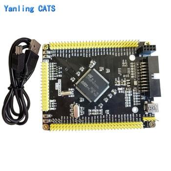 цена на STM32f407ZGT6 development board STM32F4 discovery ARM Cortex m4 MCU contoller LQFP144 Pin mini system core board 1PCS ZL-07