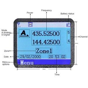 Image 2 - المزدوج الفرقة DMR راديو المذياع اللاسلكي الرقمي Retevis RT3S لتحديد المواقع DCDM TDMA هام محطة راديو تسجيل جهاز الإرسال والاستقبال + الملحقات