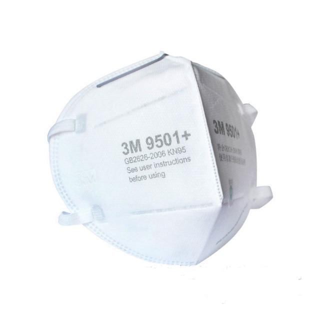 3M 9501 + Maschera Particolato Maschere di Protezione Maschera di Sicurezza Usa E Getta Viso Maschera Sanitari Respiratore Lavoro 3M KN95 Mascarilla 2
