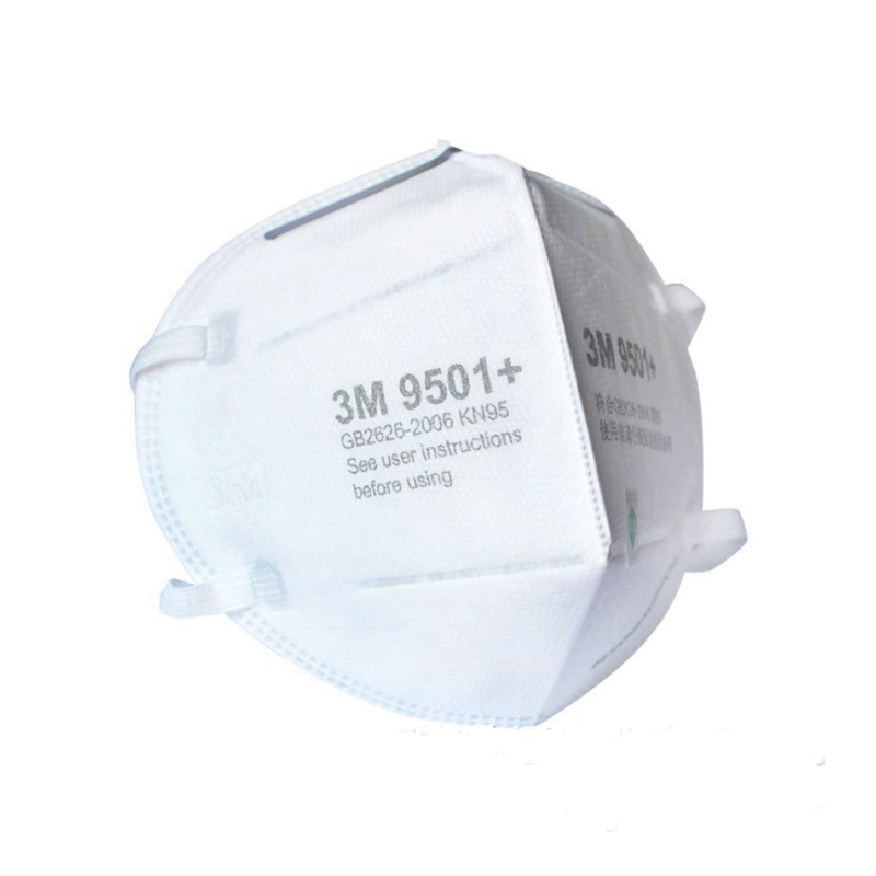 3M 9501+ Mask Particulate Protective Masks Safety Mask Disposable Face Mask Sanitary Working Respirator 3M KN95 Mascarilla 1