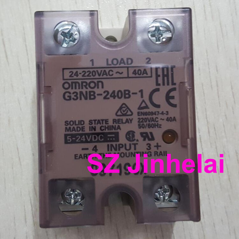 OMRON G3NB-240B-1 Authentic original Solid state relay 40A 5-24VDC