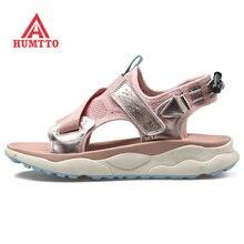 Женские летние спортивные треккинговые пляжные сандалии humtto