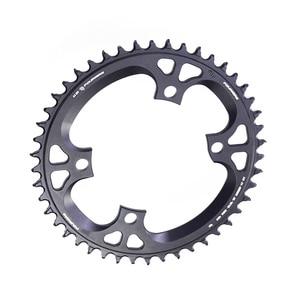 Image 5 - Fouriers Bike Enkele Kettingblad Bcd 110 42T 46 T Smalle Brede Tanden Fit Ultegra R8000 11 Speed 11 S 12 S Racefiets Kettingwiel