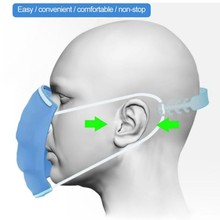 Face-Mask Buckle Extension Adjustable Ear-Protection for Kids Anti-Slip Cartoon 1/5pcs