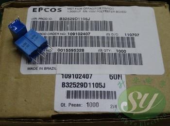 50pcs/lot new original EPCOS B32529 series 100V 5% film capacitor free shipping цена 2017