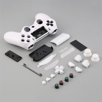 New style Game pad Controller Housing Shell W/Buttons Kit for PS4 Handle Cover Case In stock! цена 2017