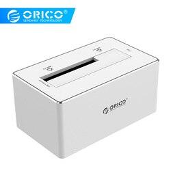 ORICO HDD durumda 2.5 3.5 ''HDD yerleştirme istasyonu SATA USB 3.0 HDD muhafaza destek UASP alüminyum sabit Disk kutusu aracı ücretsiz SSD