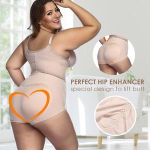 Image 5 - Women Plus size 5XL Shapewear Body Shaper Slimming waist trainer Tummy Control Bodysuit Postpartum Recover Underwear Corset Butt