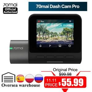 Image 1 - 70mai Dash Cam Pro 1944P Speed Coordinates GPS ADAS 70mai Pro Car DVR WiFi 70 Mai Dash Camera Voice Control 24H Parking Monitor