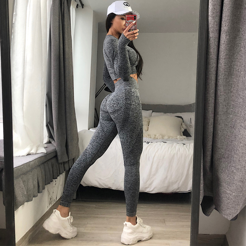 GUTA Seamless Gym Clothing Women Yoga Set Fitness suit Workout Sets yoga suit women fitness set women Women's Sportswear suit