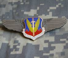 Us Air Force Usaf Tactical Air Command Pilot Ala Badge Insignia Metallo Spille Shop5605101(China)