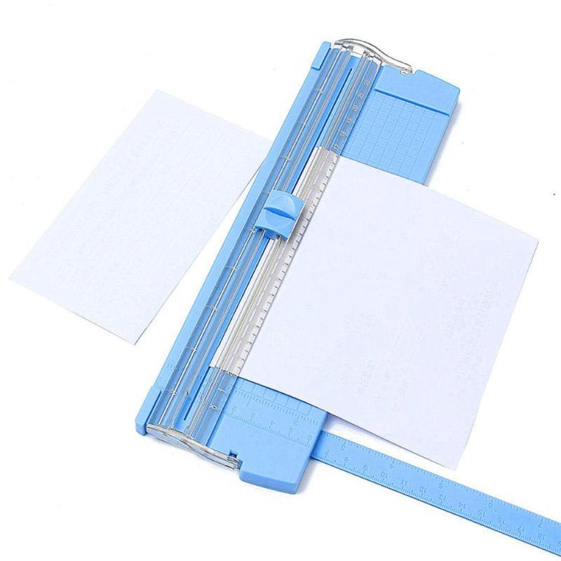 Портативный резак для бумаги A4/A5, триммер для резки бумаги, прецизионный резак для бумажных карт, художественный триммер для резки фотограф...