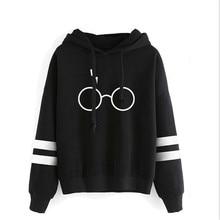 Harry Styles Men Hoodies Sweatshirt Autumn Winter Warm Male Hoodie Top Harrys Potters Glasses Print Hooded Hoody Sudadera Hombre