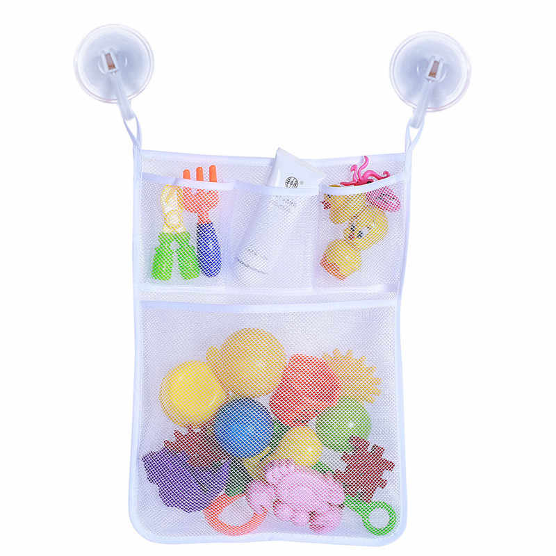 Baby Speelgoed Netje Bad Bad Pop Organizer Zuig Badkamer Bad Speelgoed Stuff Netto Baby Kids Bad Bad Speelgoed Bad game Bag Kids
