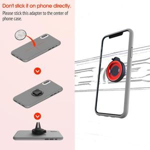 Image 4 - Phone Holder For Phone In Car Air Vent Mount, For Phone in Car Air Vent Clip Mount No Magnetic Mobile Phone Holder GPS Stand