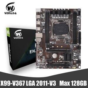 VEINEDA X99 DDR4 motherboard LGA2011-V3 Professional 4Channel memory ddr4 Desktop Motherboard Module PCI-E NVME M.2 SSD support