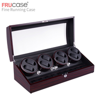 FRUCASE Watch Winder for automatic watches New Version 6+7 Wooden Watch Accessories Box collector storage display safety box