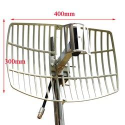 Extensor de antena WiFi de rango Ultra largo, antena parabólica direccional con wifi para exteriores, antena 15dBi de alta ganancia de 2,4G