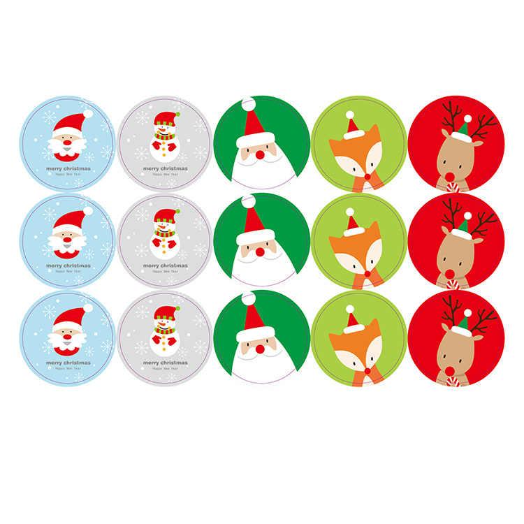 Lbالسيسي الحياة 108 قطعة يدوية ختم ورقة ملصق لعيد الميلاد الزفاف الحلوى كوكي التعبئة حقيبة صندوق DIY بها بنفسك اكسسوارات الديكور