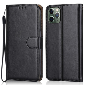 Image 2 - Leather Case For iPhone 12 11 Pro XS Max Mini Phone Bag for iPhone 6 6S 7 8 Plus X XR iPhone11 iPhone12 Wallet Flip Cover