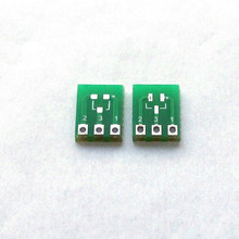 SOT23 to DIP sot23 3 to SIP3 SMT Adapter pcb board SMD Converter Prototyp