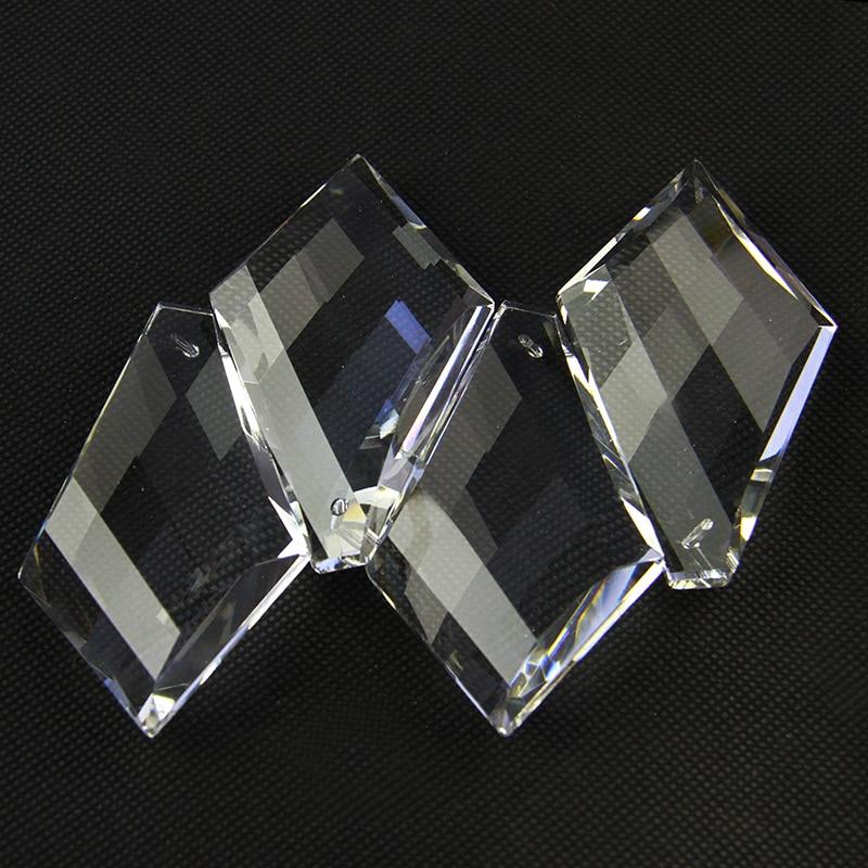 Novo 5 pçs lote 50*32*13mm claro octogonal