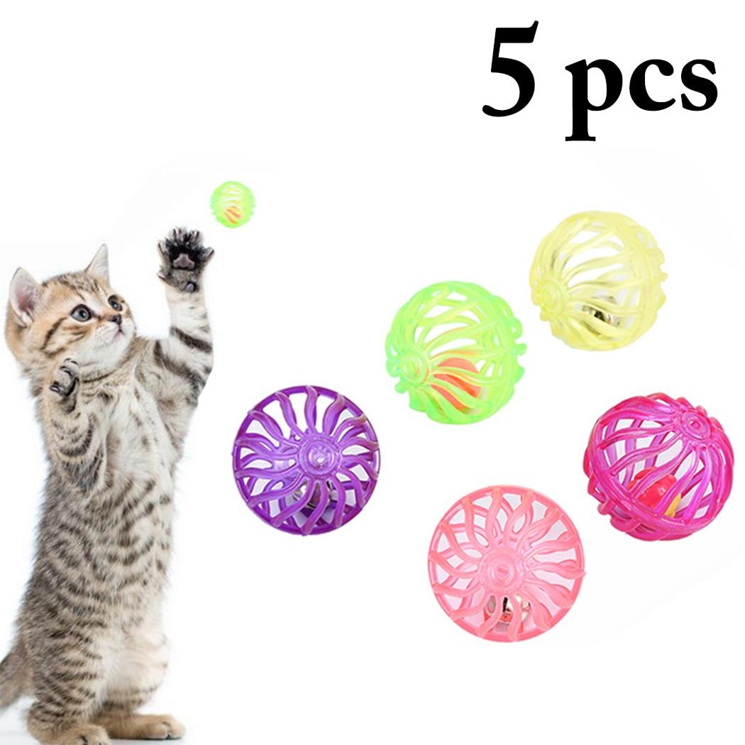 5 шт./компл. забавная игрушка в виде кошачьего мяча, полый тренировочный телефон, игрушка для котят, домашних животных