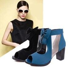 2019 letnie nowe mody fajne buty z dziurką kokardka panie Landals powrót zamek odkryte palce i pięta buty damskie Sandalias De Verano Para Mujer