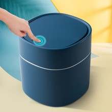 Mini Trash Can Household Garbage Basket Tabletop Trashcan Storage For Kitchen Sitting Room Small Waste Dustbins
