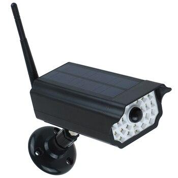 Ηλιακό φωτιστικό (fake camera) με ανιχνευτή κίνησης