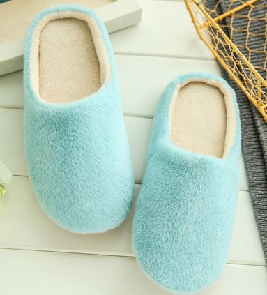 YEELOCA 2020 House Plush Soft Cute Cotton Slippers Shoes Non-slip Floor Home Slippers Women Slides For Bedroom ZX008