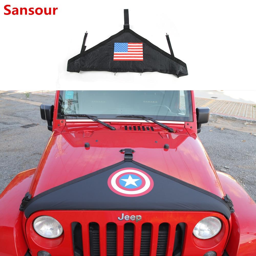 Jeep Wrangler Accessories 2017 >> Sansour Car Engine Bonnets For Jeep Wrangler Jk 2007 2017