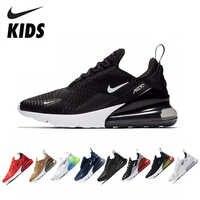 NIKE AIR MAX 270 Bambini Per Bambini Originali Runningg Scarpe Confortevole Sport All'aria Aperta scarpe Da Tennis Della Maglia #943345