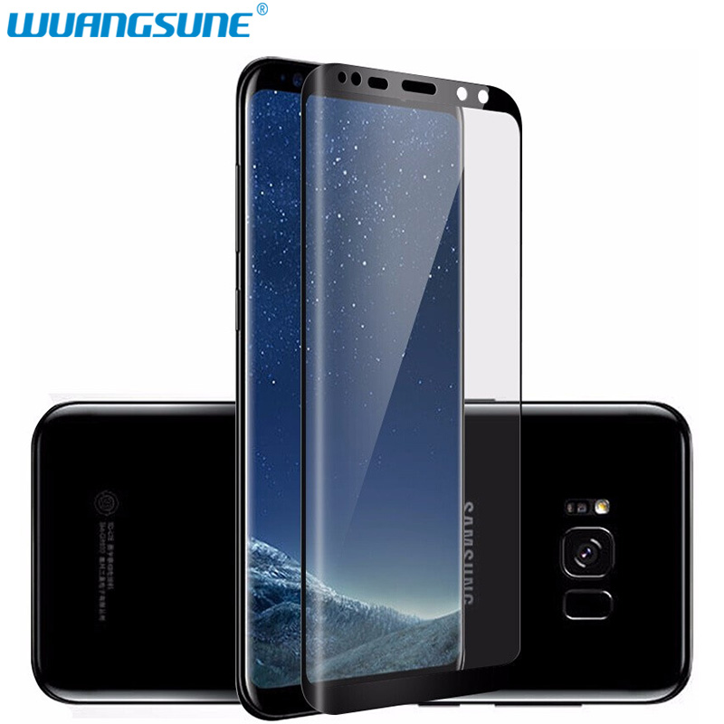 For Samsung Galaxy S6 Edge S7 S8 S9 Plus Note 8 9 3D Curved Round Full Cover Tempered Glass Screen Protector Protective Film