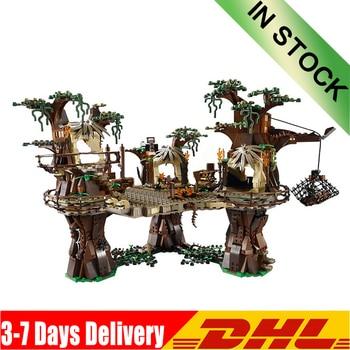 DHL 1990pcs  Star Wars  Ewok Village Building Blocks Juguete Para Construir Bricks Toys Compatible 05047 10236 Gifts 1