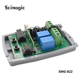 Image 4 - ROGER 2 channel Wireless Garage Door 433MHZ DC12V 24V Receiver for ROGER garage door gate remote control