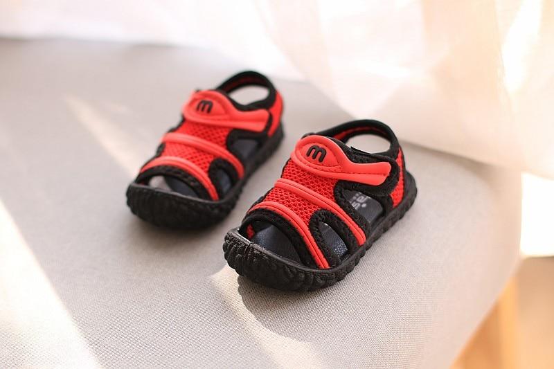 Verão novos para meninos sapatos frescos 1-3