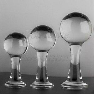 Секс-продукты 45/50/60 мм большой анальный; из прозрачного стекла Анальное дилдо Вилки анальные шарики интимные игрушки для женщин мужчин масс...