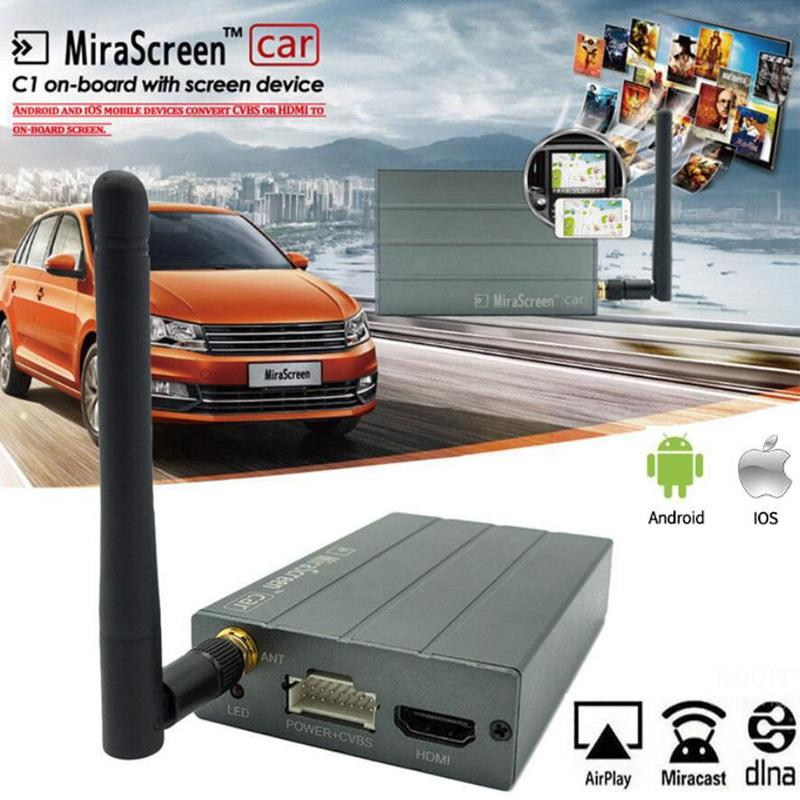Mirascreen Car Home wifi display Dongle mirror screen wireless HDMI Miracast Streamers Android tv stick Airplay Receiver For iOS