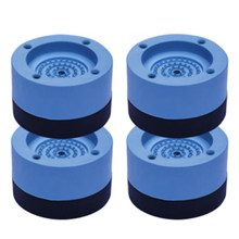 4 Pcs/Set Anti-Vibration Pads Rubber Noise Reduction Vibration Anti-Walk Foot Mount for Washer and Dryer Adjustable Height Washi(China)