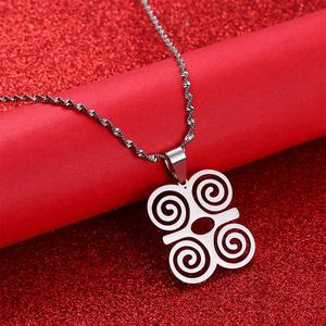 Stainless Steel African Symbol