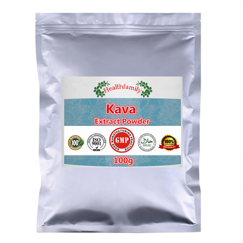 Stress-related Anxiety,Organic Kava Extract Powder,100% Pure Natural Kavakava,High Quality Import From China,free Shipping