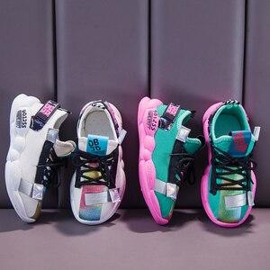 Image 5 - PINSEN 2019 Neue Herbst Turnschuhe Mädchen schuhe Kinder Schuhe Jungen Mode Casual Kinder Schuhe für Mädchen Sport Laufschuhe Kind Schuhe